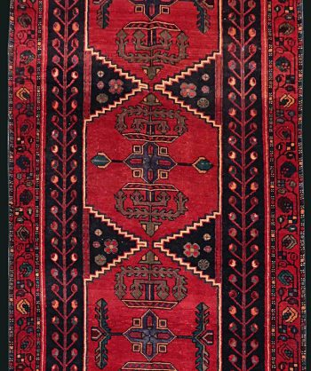 1930 Antique Persian Heriz Runner