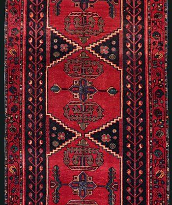 1930 Antique Persian Heriz Runner