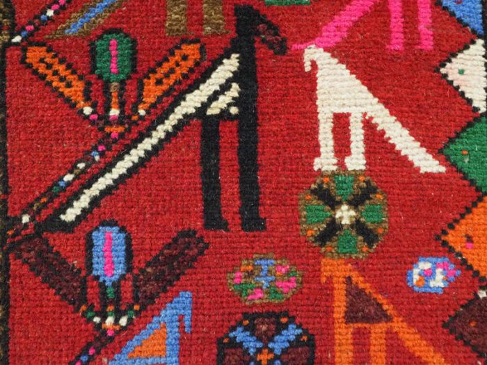 Vintage Tree of life Hunting Rug