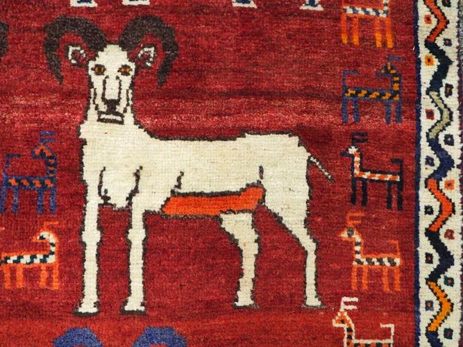 Tribal Hunting Rug