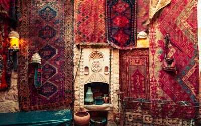 How does an Oriental Rug Compare to an Oriental Carpet and where do they come from?