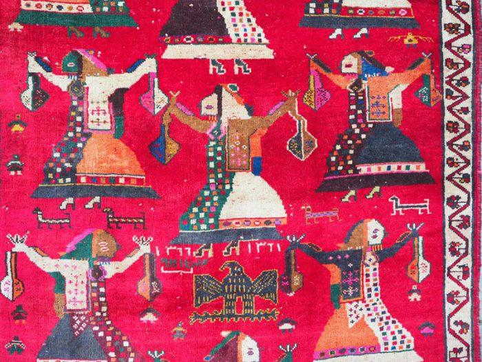 Tribal Wool Persian Rug