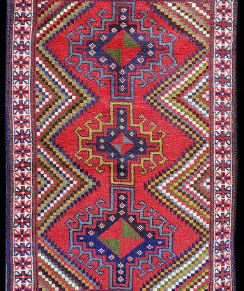 Kurdish Kazak Rug