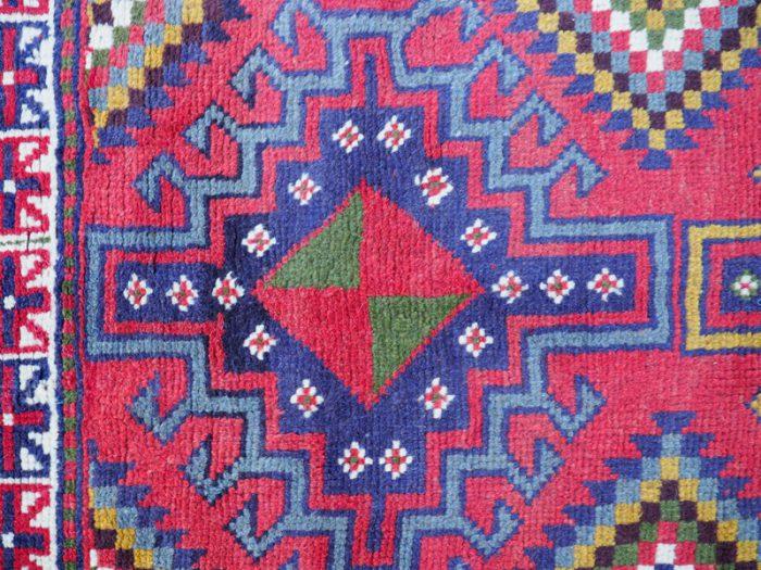 Kazak Wool Area Rug