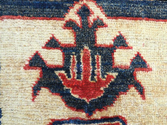 Kazak Rug hand-made in Afghanistan