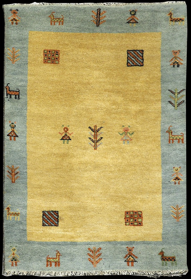 Gabbeh Rug made in Pakastan