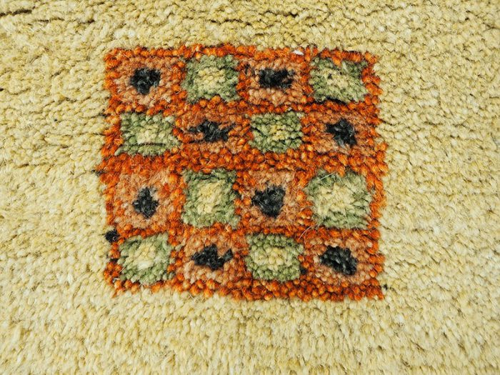Hand Knotted Wool Nomad Rug