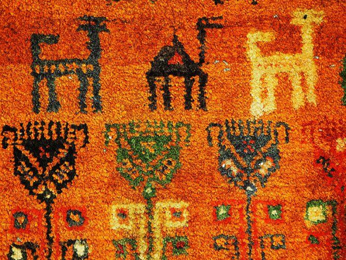 Baluch Persian Hand-Woven Tribal Rug