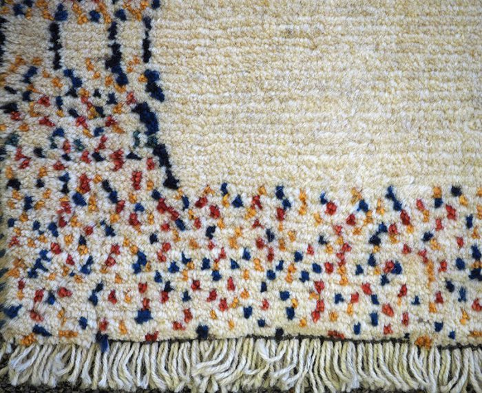 Thick Gabbeh Tribal Wool Rug