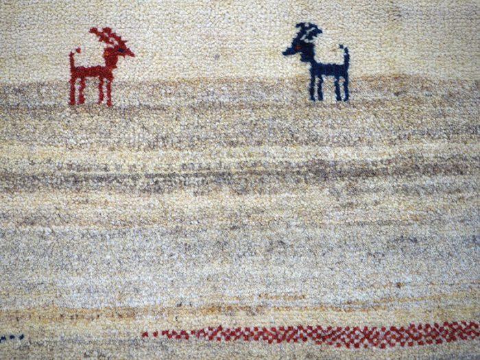 Hand-Made Gabbeh Nomad Rug