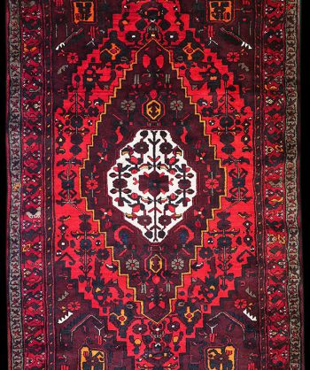 Hand-Woven Persian Rug from Zanjan