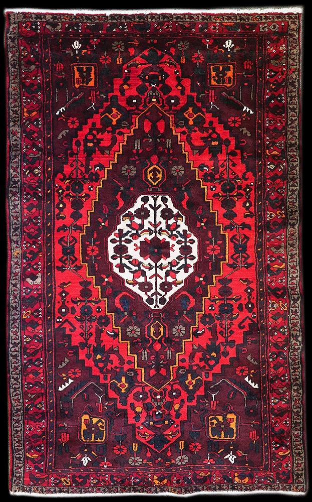 Hand-Woven Persian Rug from Zanjan