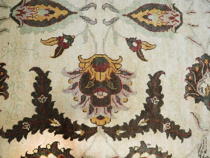 Antique Hand-Woven Chobi Carpet