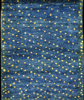 Vintage Gabbeh Tribal Rug