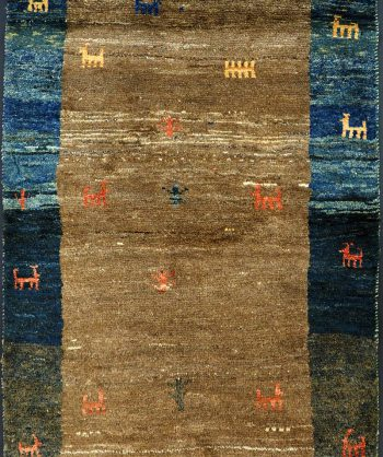 Wool Gabbeh Tribal Rug