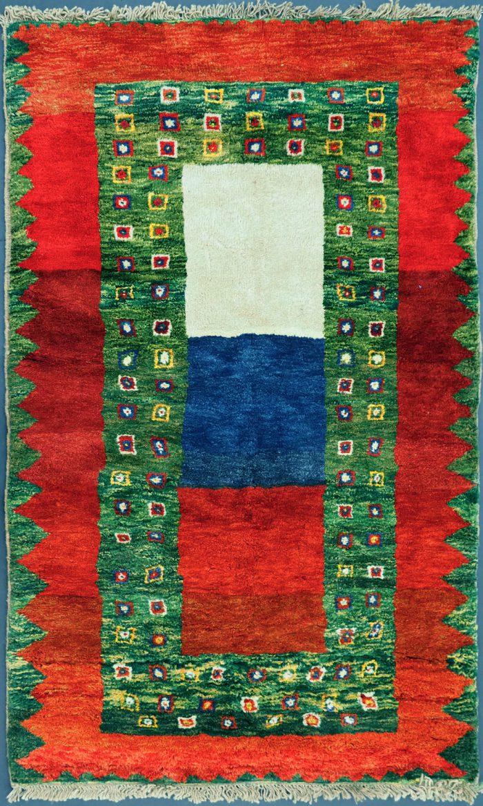 Wool Gabbeh Tribal Rug