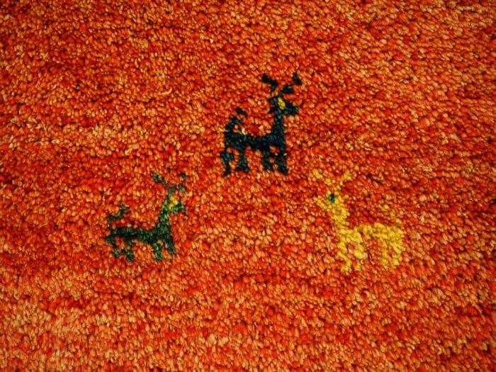 Hand-made Gabbeh Carpet