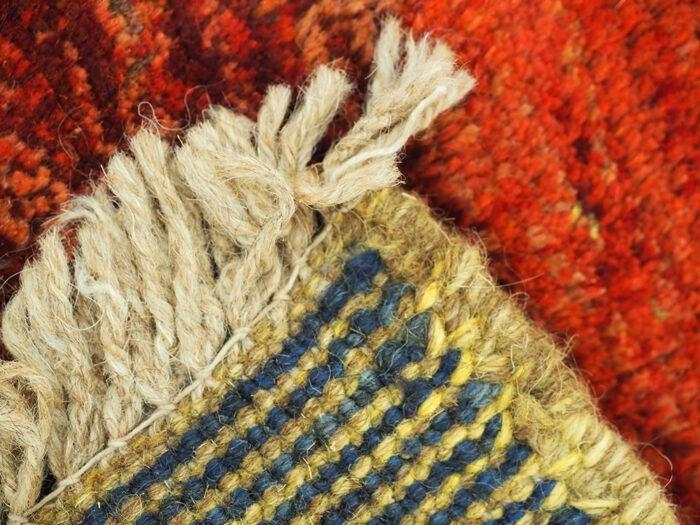 Hand-woven Persian Gabbeh Rug