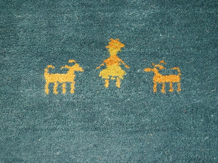 Hand-Made Gabbeh Rug