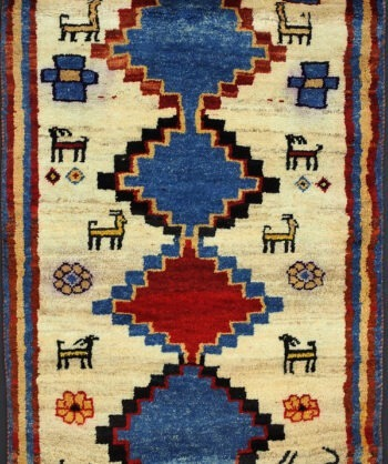 Hand-knotted Tribal Persian Rug