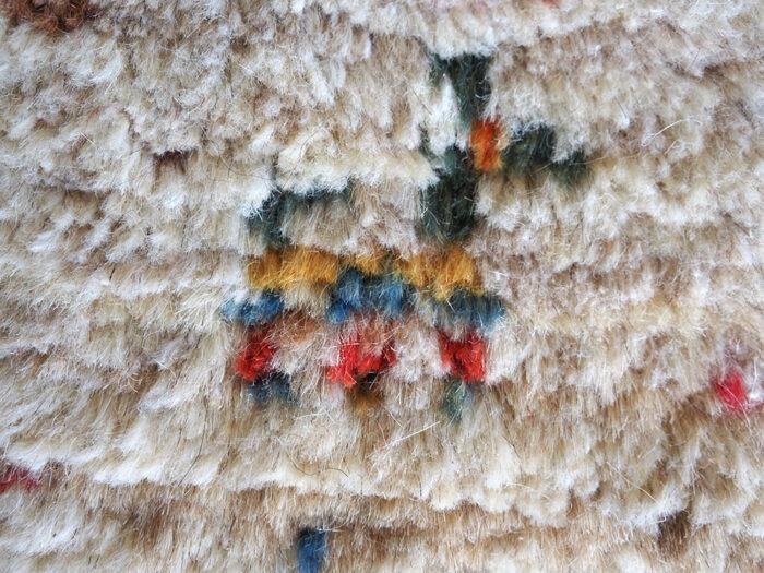 Natural wool Gabbeh rug