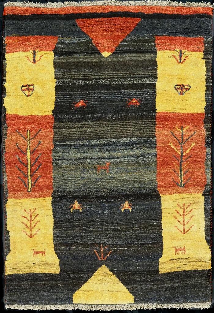 Gabbeh Persian Wool Rug