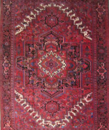 Wool Heriz Village Rug